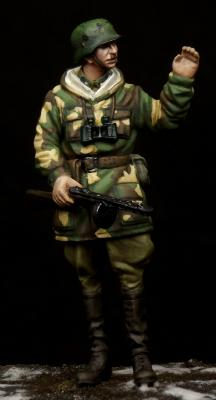 Hungarian Airborne Assault NCO WW II