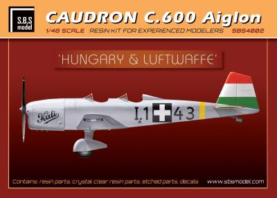 Caudron C.600 Aiglon 'Hungary&Luftwaffe' full kit