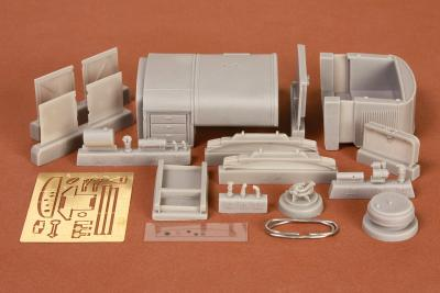 Kfz.385 Opel Blitz T-Soff conversion set for Italeri kit