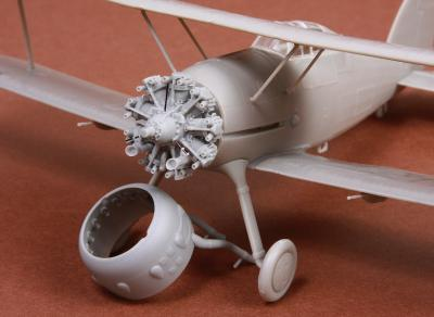 Gloster Gladiator Mk.I/Mk.II engine & cowling for Roden/EDU