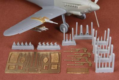 Wing Cannon & Rocket set for HA-1112 Tripala/Buchon Spanish