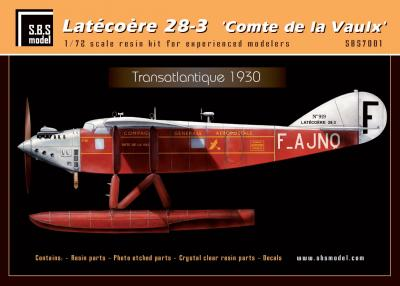 Latecoere 28-3 'Comte de la Vaulx' (full resin kit)