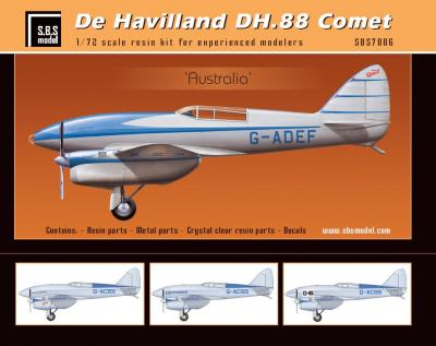 De Havilland DH-88 Comet 'Australia' full kit