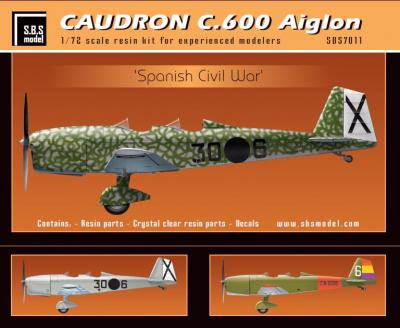 Caudron C.600 Aiglon 'Spanish Civil War' full kit
