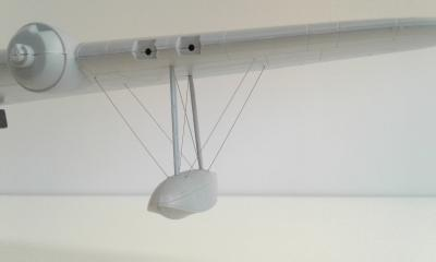 Short Sunderland Float Bracing wire set for Italeri kit