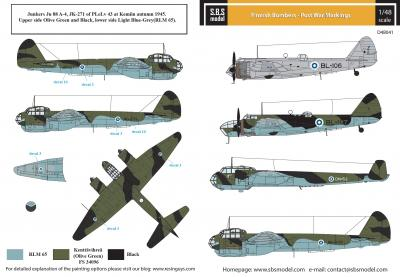 Finnish Bombers - Post War Markings