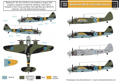 Bristol Blenheim Mk. IV. in Finnish Service