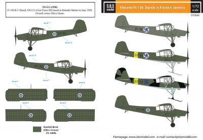 Fieseler Fi-156 Storch in Finnish Service