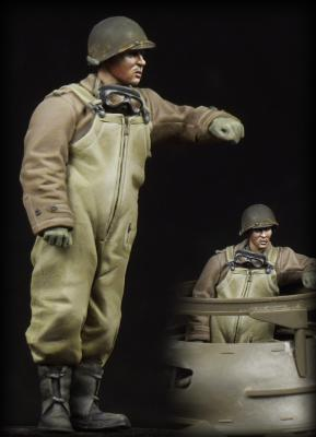 M8 Greyhound Crewman (to turret)