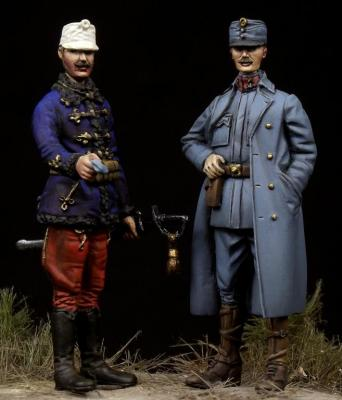 Austro-Hungarian Officers WW I.