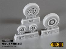 MiG−25 wheel set for ICM kit