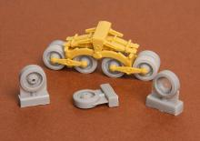 Zrínyi assault gun roadwheels set for Bronco kit