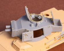 Toldi II (B40) corrected turret (without barrel)