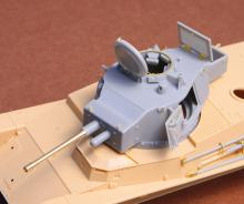Toldi II (B40) corrected turret (with metal barrel)
