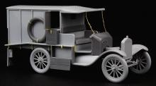 Ford Model T Ambulance update set for ICM kit