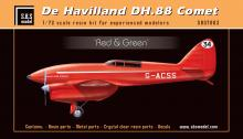 De Havilland DH-88 Comet 'Red & Green' full resin kit AGAIN!