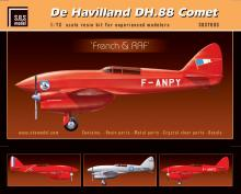 De Havilland DH-88 Comet 'French & RAF' full kit LIMITED!!!