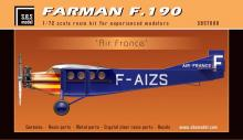 Farman F.190 'Air France' full resin kit