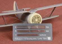 Polikarpov I-153 Chaika Rigging wire set for ICM/REVELL kit