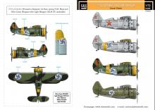 Polikarpov I-153 Chaika Finnish Air Force WWII
