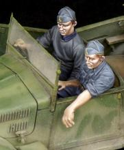 Italian driver & NCO for 508 CM Coloniale WW II