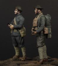USMC officer & soldier (WW1) - 1.