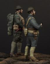 USMC officer & soldier (WW1) - 3.