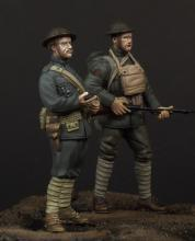 USMC officer & soldier (WW1) - 4.