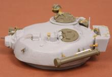 T-72M early turret for Tamiya kit - 2.