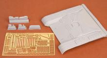 T-72M early front hull armour set for Tamiya kit - 2.