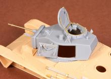 Toldi I (B20) corrected turret (with metal barrel) for Hobbyboss kit - 1.