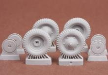 39M Csaba wheel set (Cordatic) for Hobbyboss kit - 1.