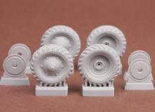 39M Csaba wheel set (Firestone) for Hobbyboss kit - 1.