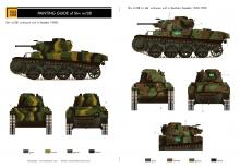 Stridsvagn m/38 Swedish tank conversion set - COMING SOON! - 9.