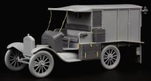 Ford Model T Ambulance update set for ICM kit - 2.