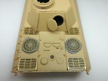 Sd.Kfz. 171 Panther D early fan cover with grilles - 3.
