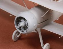 Gloster Gladiator Mk.I/Mk.II engine & cowling for Roden/EDU  - 1.