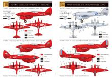 De Havilland DH-88 Comet 'French & RAF' full kit LIMITED!!! - 1.