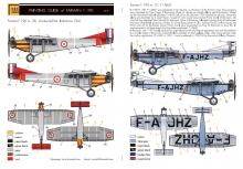 Farman F.190 'Armée de l'Air & Air service' full resin kit - 1.