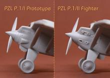 PZL P.1 I/II Prototype & Fighter - 11.