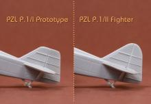 PZL P.1 I/II Prototype & Fighter - 12.