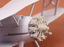Gloster Gladiator engine (Bristol Mercury) for Airfix kit - 1.