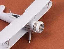Gloster Gladiator engine (Bristol Mercury) for Airfix kit - 3.