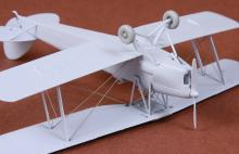 De Havilland DH-82 Tiger Moth rigging & wheel set for Airfix - 2.