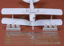 De Havilland DH-82 Tiger Moth rigging & wheel set for Airfix - 4.