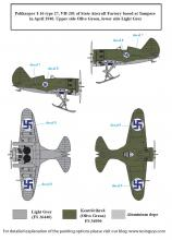 Captured Fighters in Finnish Service WW II - 2.