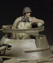 M8 Greyhound Crewman (to turret) - 7.