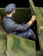 Italian driver for 508 CM Coloniale WW II - 2.