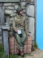 US Infantry Soldier WW II Normandy  - 2.