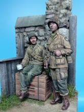 US Paratrooper & Infantry soldier - Normandy 1944  - 1.
